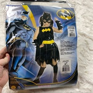 Batgirl costume girls 4-6 black
